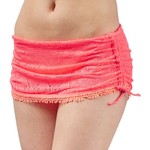 O'Rageous Juniors' Solid Crochet Skirtini Swim Bottoms - view number 3