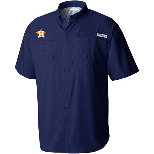 Display product reviews for Columbia Sportswear Men's Houston Astros PFG Tamiami Button Down Shirt