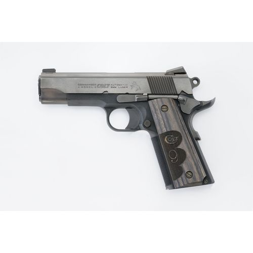 Colt Wiley Clapp Commander 9mm Pistol
