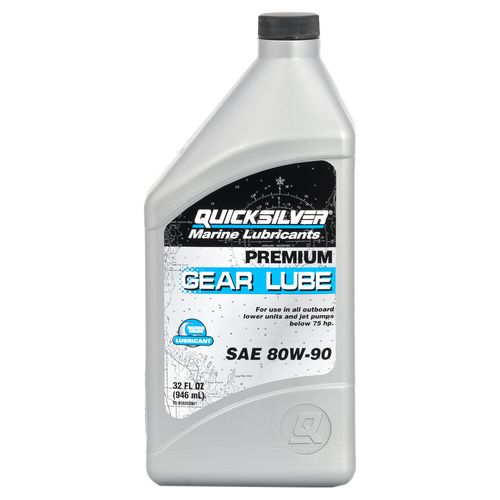 Quicksilver 1 qt. Premium Gear Lube