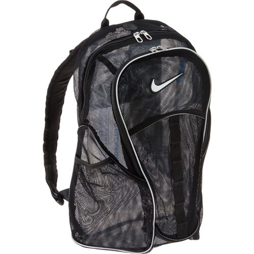 blue nike mesh backpack