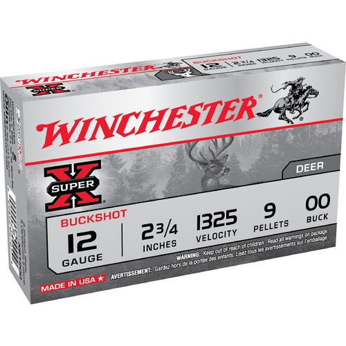 Display product reviews for Winchester Super-X Buckshot Load 12 Gauge Shotshells