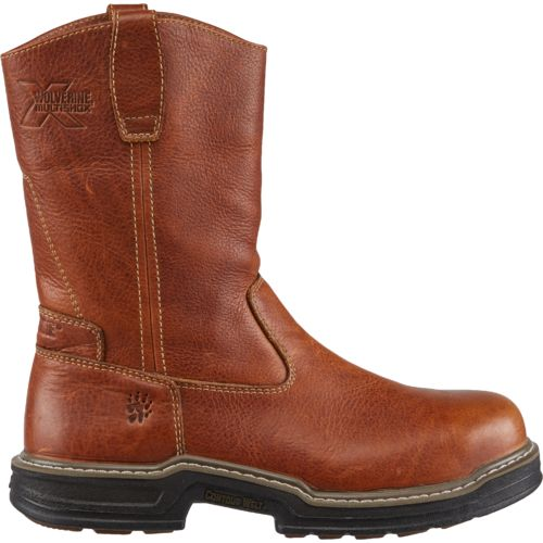 Display product reviews for Wolverine Men's Raider MultiShox Contour Welt Wellington Work Boots