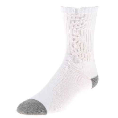 Tredz™ Adults' Crew White Socks 8-Pack