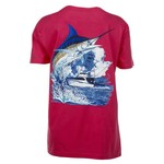 Guy Harvey Women's Marlin and Sport Boat T-shirt