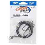 """Eagle Claw 48"""" Saltwater Leader Rigs 2-Pack"""