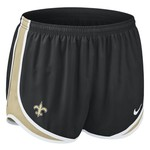 Nike Women's New Orleans Saints Tempo Running Short