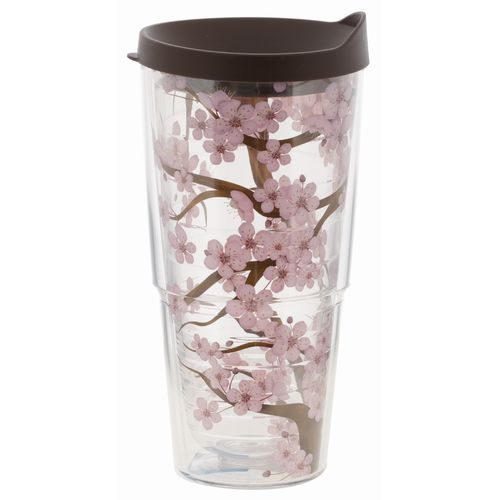 Tervis 24 oz. Cherry Blossom Wrap Tumbler with Lid