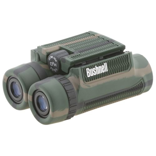 Image for Bushnell H2O 10 x 25 Roof Prism Binoculars from Academy
