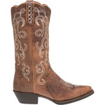 Justin Women's Puma Cowhide Stampede Western  Boots