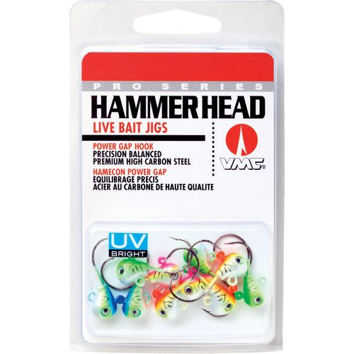 VMC Hammer Head Live Bait Jighead Kit 10-piece