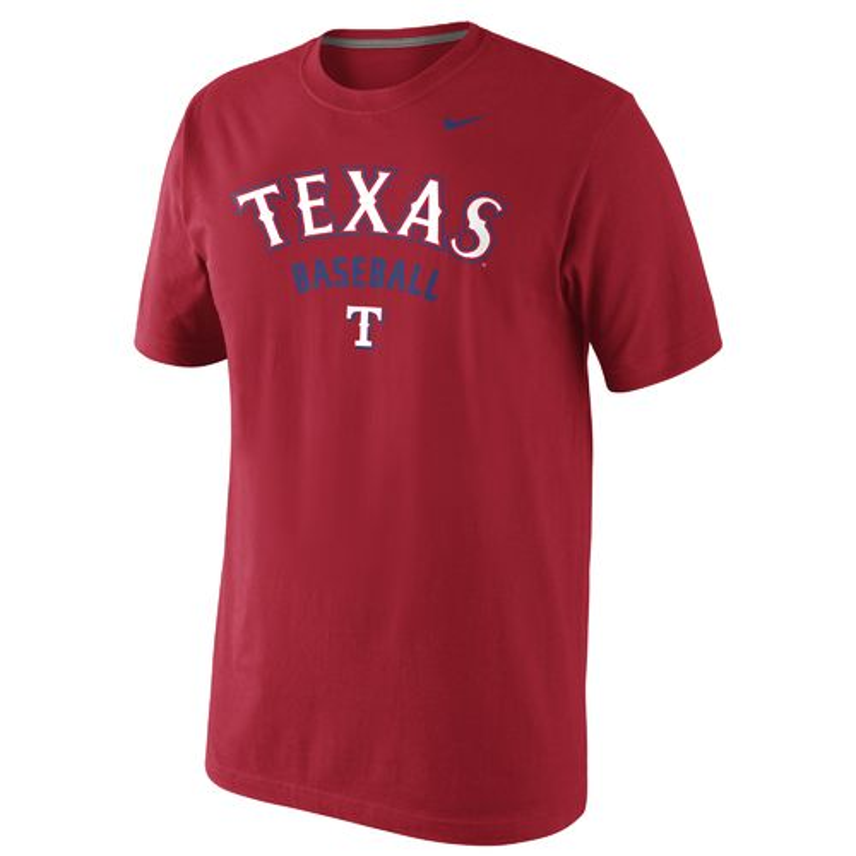 Nike™ Men's Texas Rangers Practice 1.4 T-shirt