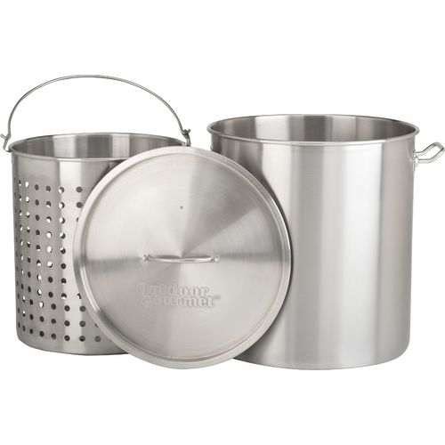 Outdoor Gourmet Pro™ 100 qt. Stainless Steel Pot with Strainer