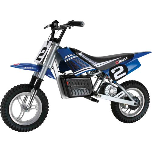 "Display product reviews for Razor® Kids' MX350 Dirt Rocket™ 12"" 1-Speed Electric Dirt Bike"