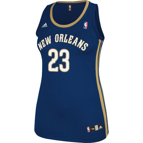 adidas Women's New Orleans Pelicans Anthony Davis No. 23 NBA Replica Jersey