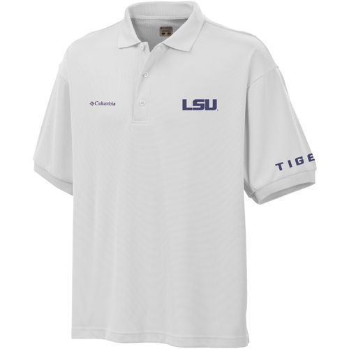 Columbia Sportswear Men's Louisiana State University Collegiate Perfect Cast™ Polo Shirt