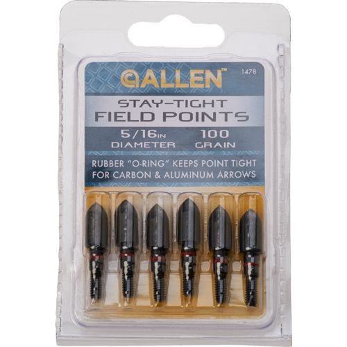 "Allen Company 5/16"" Stay Tight Bullet Points 6-Pack"