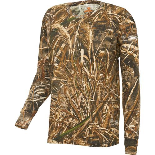 Display product reviews for Game Winner Men's Hill Zone Camo Long Sleeve T-shirt