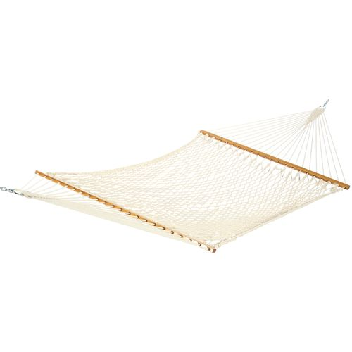 Medium image of castaway deluxe cotton rope hammock