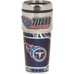 Great American Products Tennessee Titans 16 oz. Travel Tumbler with Metallic Wrap