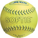 "JUGS Softie 11"" Genuine Leather Softballs 12-Pack"