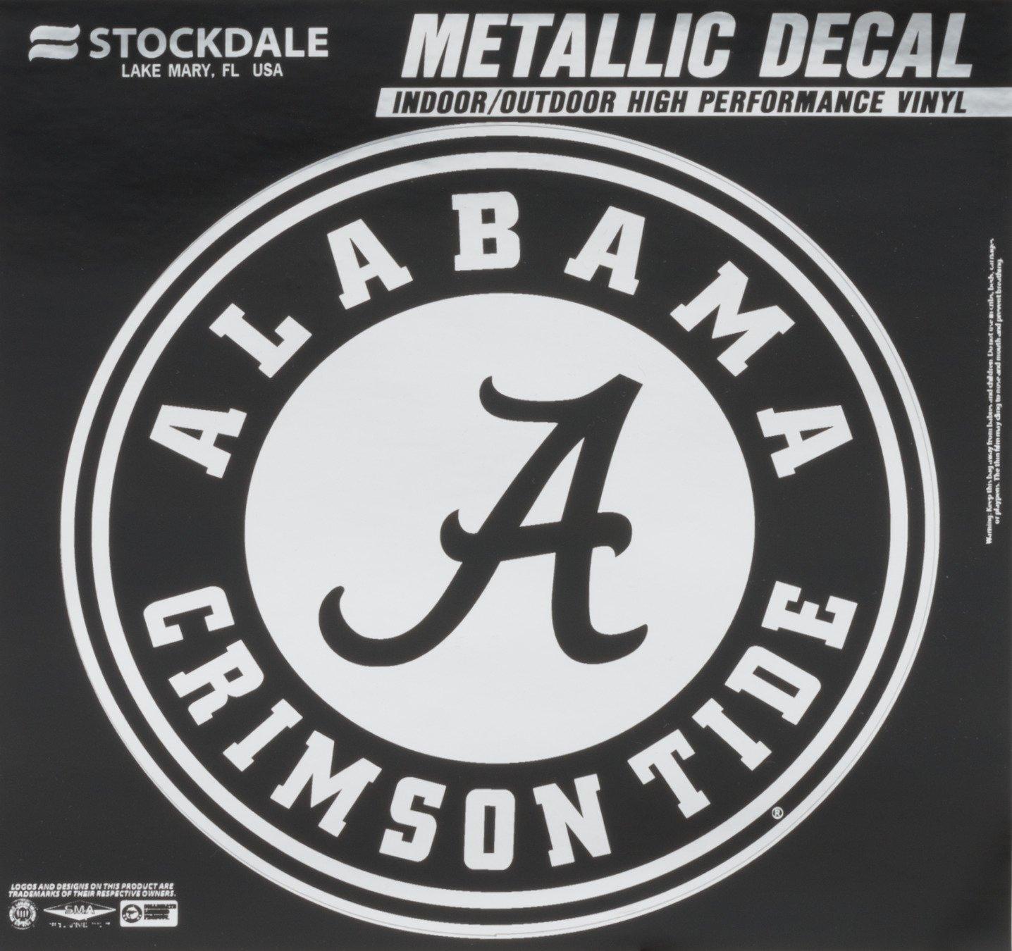 Stockdale University of Alabama Metallic Decal