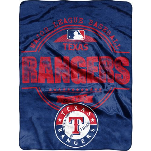 MLB Texas Rangers Structure Micro Raschel Throw