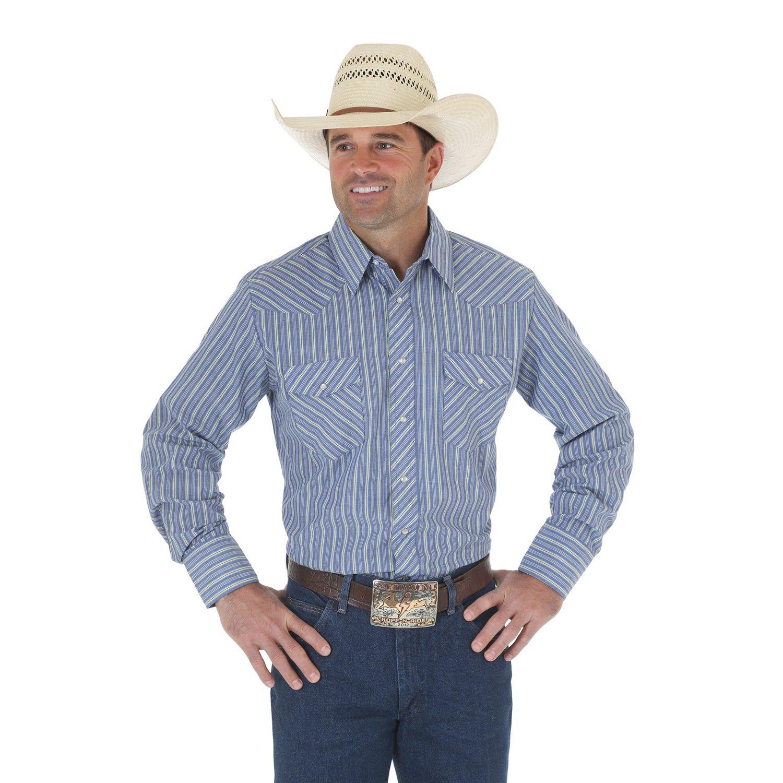 Wrangler® Men's Western Snap Shirt