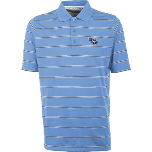 Antigua Men's Tennessee Titans Deluxe Polo Shirt