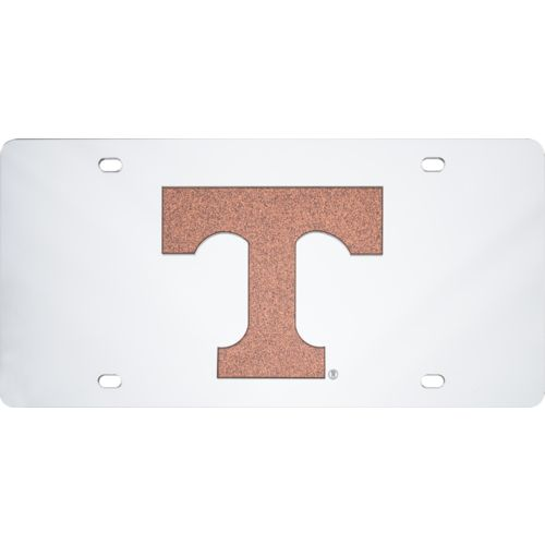Stockdale University of Tennessee Glitter Letter License Plate