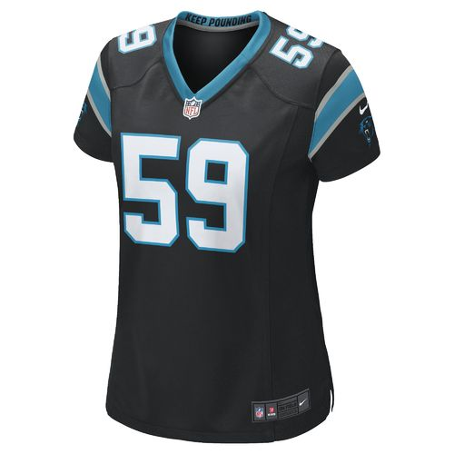 Nike Women's Carolina Panthers Luke Kuechly #59 Home Replica Jersey