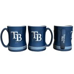 Boelter Brands Tampa Bay Rays 14 oz. Relief Style Coffee Mug