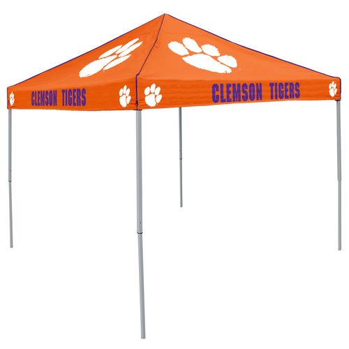 Logo Clemson University Straight-Leg 9 ft x 9 ft Color Tent