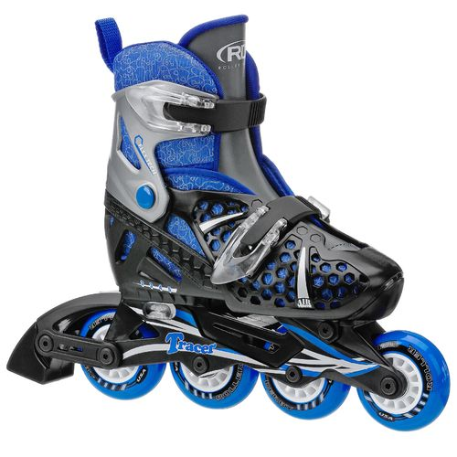 Display product reviews for Roller Derby Boys' Tracer Adjustable In-Line Skates