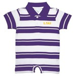Two Feet Ahead Toddlers' Louisiana State University Rugby Romper