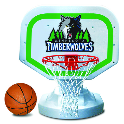 Poolmaster® Minnesota Timberwolves Competition Style Poolside Basketball Game