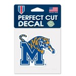 WinCraft University of Memphis Perfect Cut Decal
