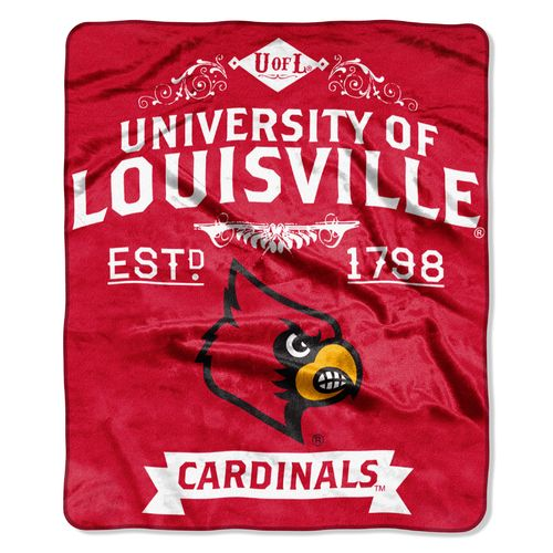 The Northwest Company University of Louisville Label Raschel Throw