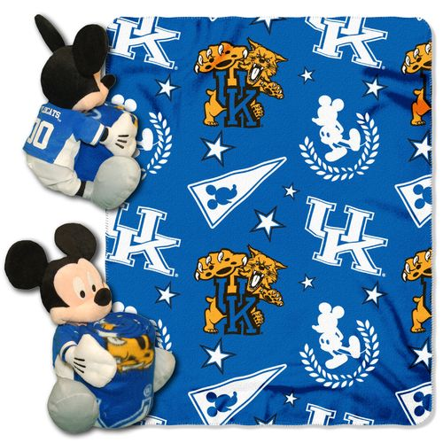 The Northwest Company University of Kentucky Mickey Mouse Hugger and Fleece Throw Set