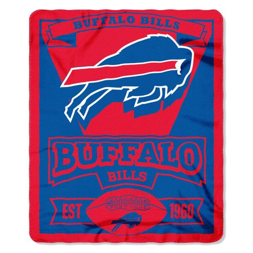 The Northwest Company Buffalo Bills Marquee Fleece Throw