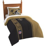 The Northwest Company New Orleans Saints Twin Comforter and Sham Set - view number 1