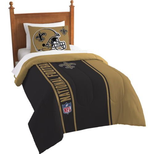 The Northwest Company New Orleans Saints Twin Comforter and Sham Set