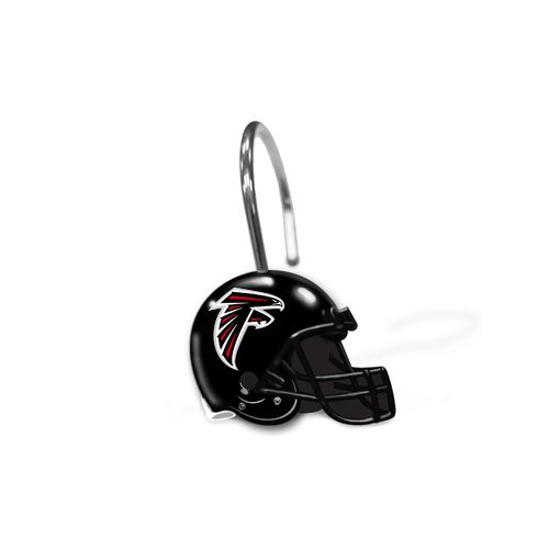 The Northwest Company Atlanta Falcons Shower Curtain Rings 12-Pack