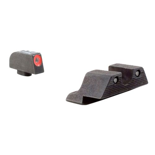 Trijicon GLOCK HD Tritium Front and Rear 3-Dot Night Sights