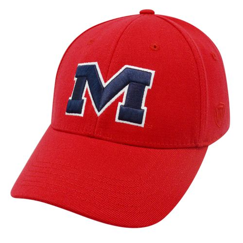 Top of the World Adults' University of Mississippi Premium Collection Memory Fit™ Cap