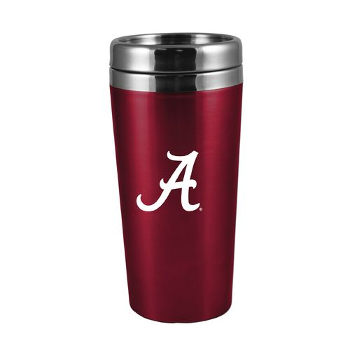 The Fanatic Group University of Alabama 16 oz. Rubberized Stainless-Steel Tumbler