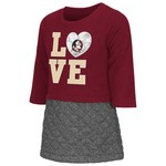 Colosseum Athletics Toddler Girls' Florida State University Glitter Dress