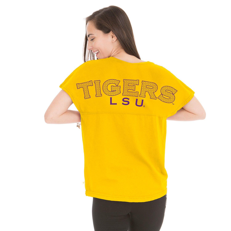 Henley Women's Louisiana State University Callie Game Day