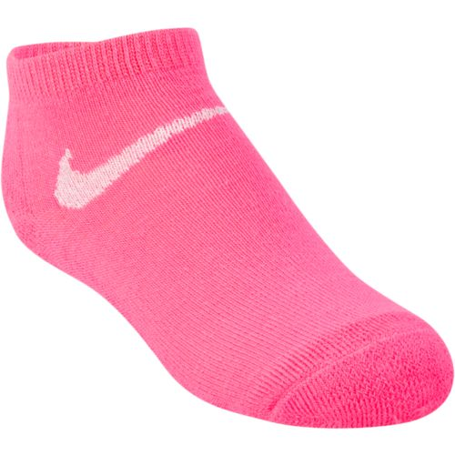 Nike Girls' Metallic Swoosh Low-Cut Socks 3-Pair