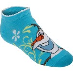Disney Girls' Frozen No-Show Socks 6-Pack